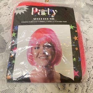 Party short bob wig.
